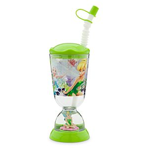 Tinker Bell Snowglobe Tumbler with Straw