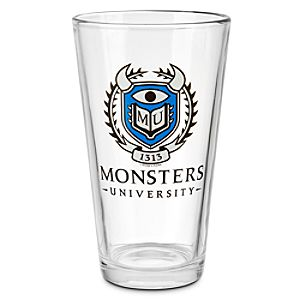 Monsters University Glass Tumbler