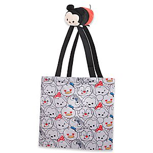 Mickey Mouse Tsum Tsum Nylon Plush Bag