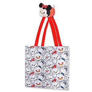 Minnie Mouse Tsum Tsum Nylon Plush Bag