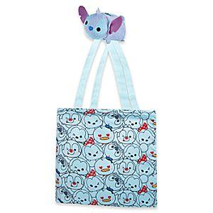 Stitch Tsum Tsum Nylon Plush Bag