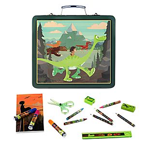 The Good Dinosaur Tin Art Case Set
