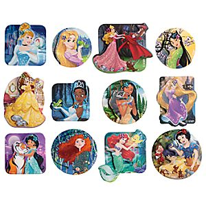 Disney Princess 3-D Sticker Set