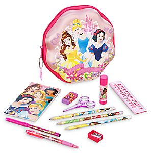 Disney Princess Zip-Up Stationery Kit