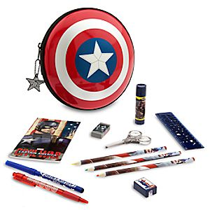 Captain America: Civil War Zip-Up Stationery Kit