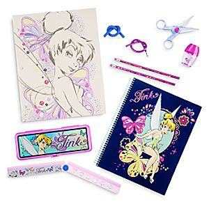 Tinker Bell Stationery Supply Kit