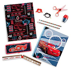 Lightning McQueen Stationery Supply Kit