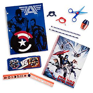 Captain America: Civil War Stationery Supply Kit
