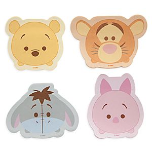 Winnie the Pooh and Friends Tsum Tsum Sticky Note Set