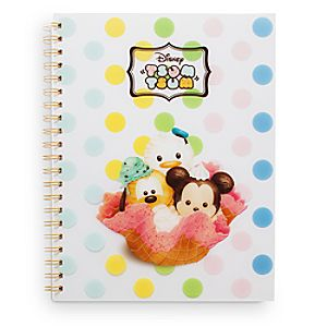 Mickey Mouse and Friends Tsum Tsum Notebook
