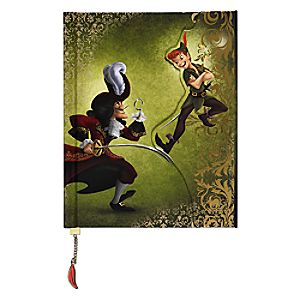 Peter Pan and Captain Hook Fairytale Journal - Disney Fairytale Designer Collection