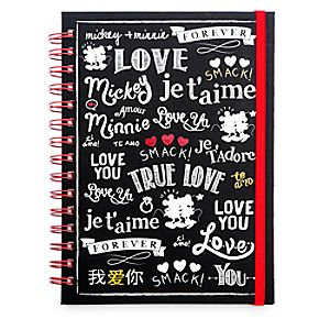 Mickey and Minnie Mouse Journal - I Love Mickey Collection