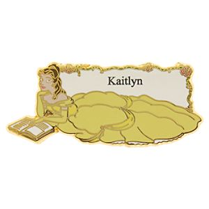 Belle Personalized Pin