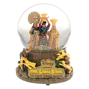 The Lion King: The Broadway Musical Snowglobe
