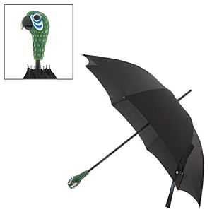 Mary Poppins The Broadway Musical Parrot Head Umbrella For Adults image