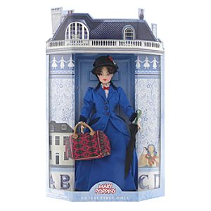 Mary Poppins: The Broadway Musical -Mary Poppins Doll - 12""