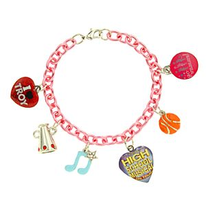 High School Musical On Tour Charm Bracelet with Locket