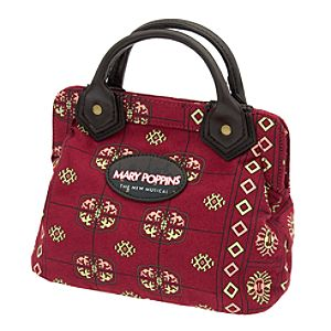 Mary Poppins: The Broadway Musical - Carpet Bag Mini Purse