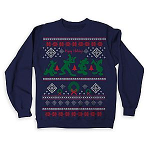 Mickey Mouse and Friends Ugly Holiday Sweatshirt for Adults - Limited Release