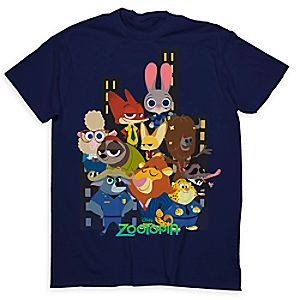 Zootopia Cast Tee for Adults - Limited Release