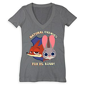 Judy Hopps and Nick Wilde Tee for Women - Zootopia - Limited Release