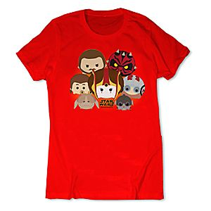 Star Wars: The Phantom Menace Tsum Tsum Tee for Women - Limited Release