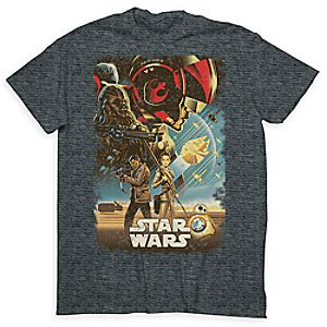 Star Wars: The Force Awakens Commemorative Tee for Men - Limited Release