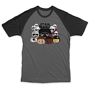 Star Wars: The Force Awakens Tsum Tsum Raglan Tee for Adults - Limited Release