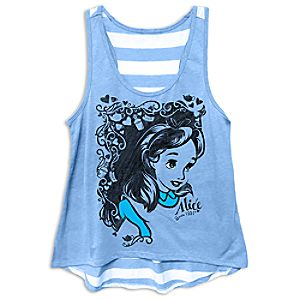 Alice in Wonderland Tank Tee for Women - 65th Anniversary - Limited Release