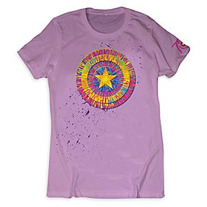 Captain America 75th Anniversary Tee for Girls - Limited Release