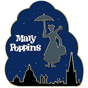 London Skyline Mary Poppins Pin