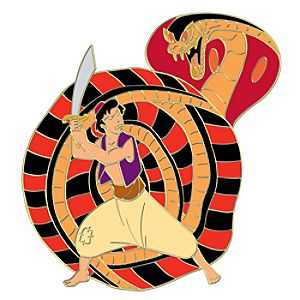 110th Legacy Collection Jafar Versus Aladdin Pin