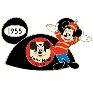 1955 Mickey Mouse Club Pin
