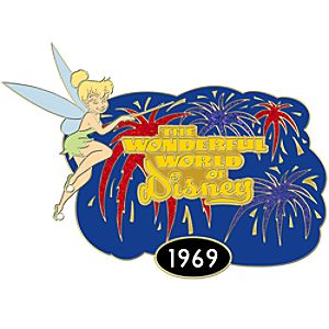 1969 The Wonderful World of Disney Pin