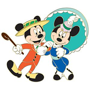 110th Legacy Collection Nifty Nineties Mickey and Minnie Pin