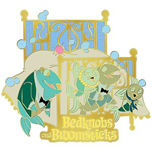 110th Legacy Collection Bedknobs and Broomsticks Pin