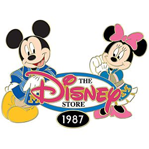 110th Legacy Collection The Disney Store Mickey and Minnie Pin