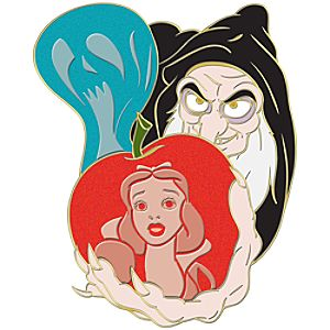 Evil Stepmother Snow White Jumbo Pin