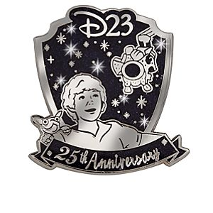 D23 Membership Exclusive 25th Anniversary Flight of the Navigator Pin