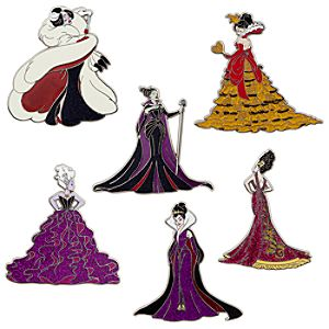 Designer Villains Pin Set - Limited Edition