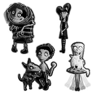 Frankenweenie Pin Set