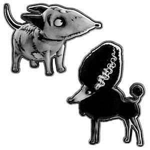 Sparky and Persephone Pin Set - Frankenweenie
