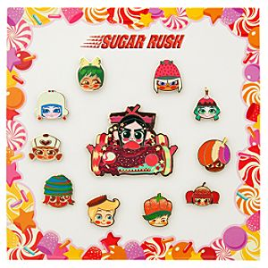 Sugar Rush Pin Set - Wreck-It Ralph
