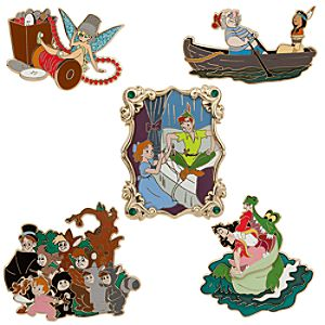 Peter Pan Pin Set - 5-Pc. - 60th Anniversary