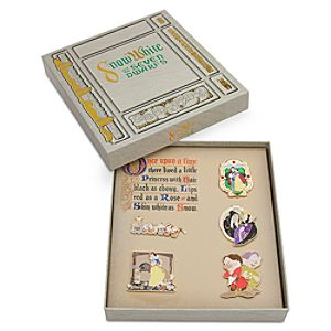 Snow White and the Seven Dwarfs Pin Set - 75th Anniversary