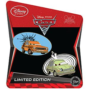 Cars 2 Pin Set: Grem and Acer -- Limited Edition of 350