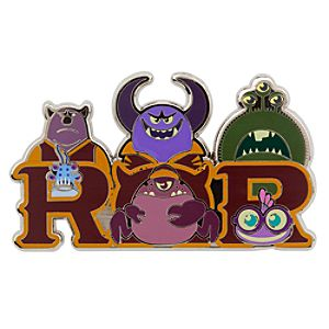 ROR Fraternity Pin - Monsters University