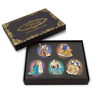 Disney Fairytale Designer Collection Limited Edition Pin Set