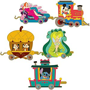 D23 Train Pin Set -- 5-Pc.