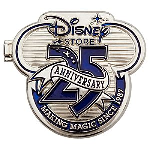 D23 Exclusive 25th Anniversary Disney Store Locket Pin